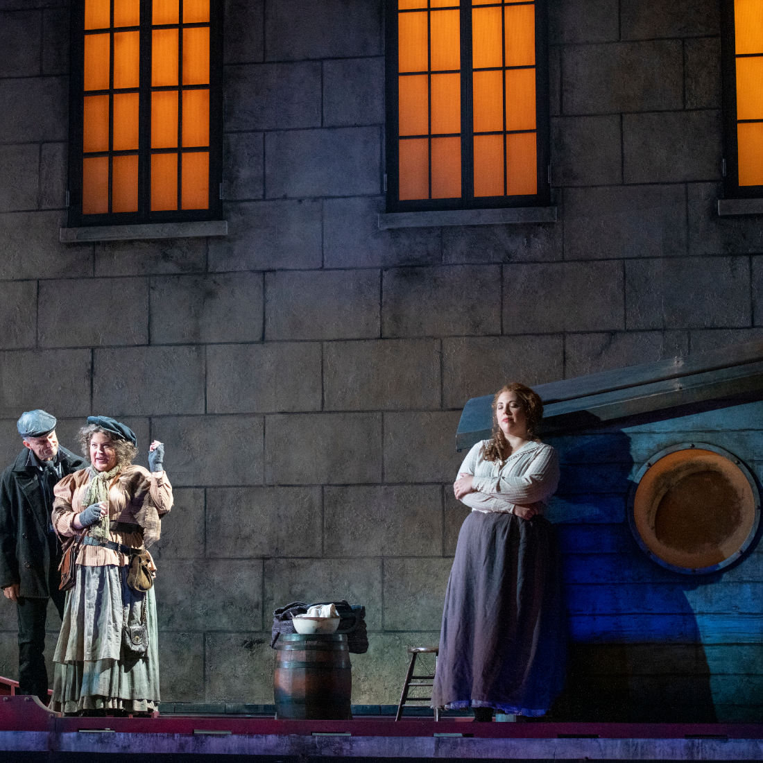 Pacific Opera Victoria's Il tabarro. Photo: David Cooper