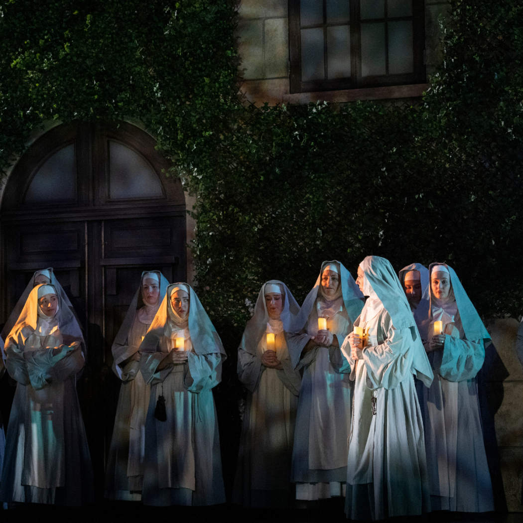 Scene from Pacific Opera Victoria's Suor Angelica. Photo: David Cooper