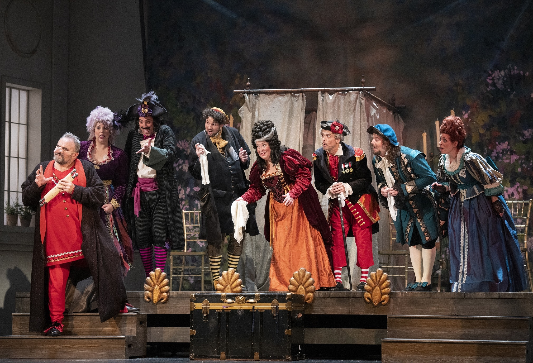 Il trittico: Scene from Gianni Schicchi. David Cooper Photography