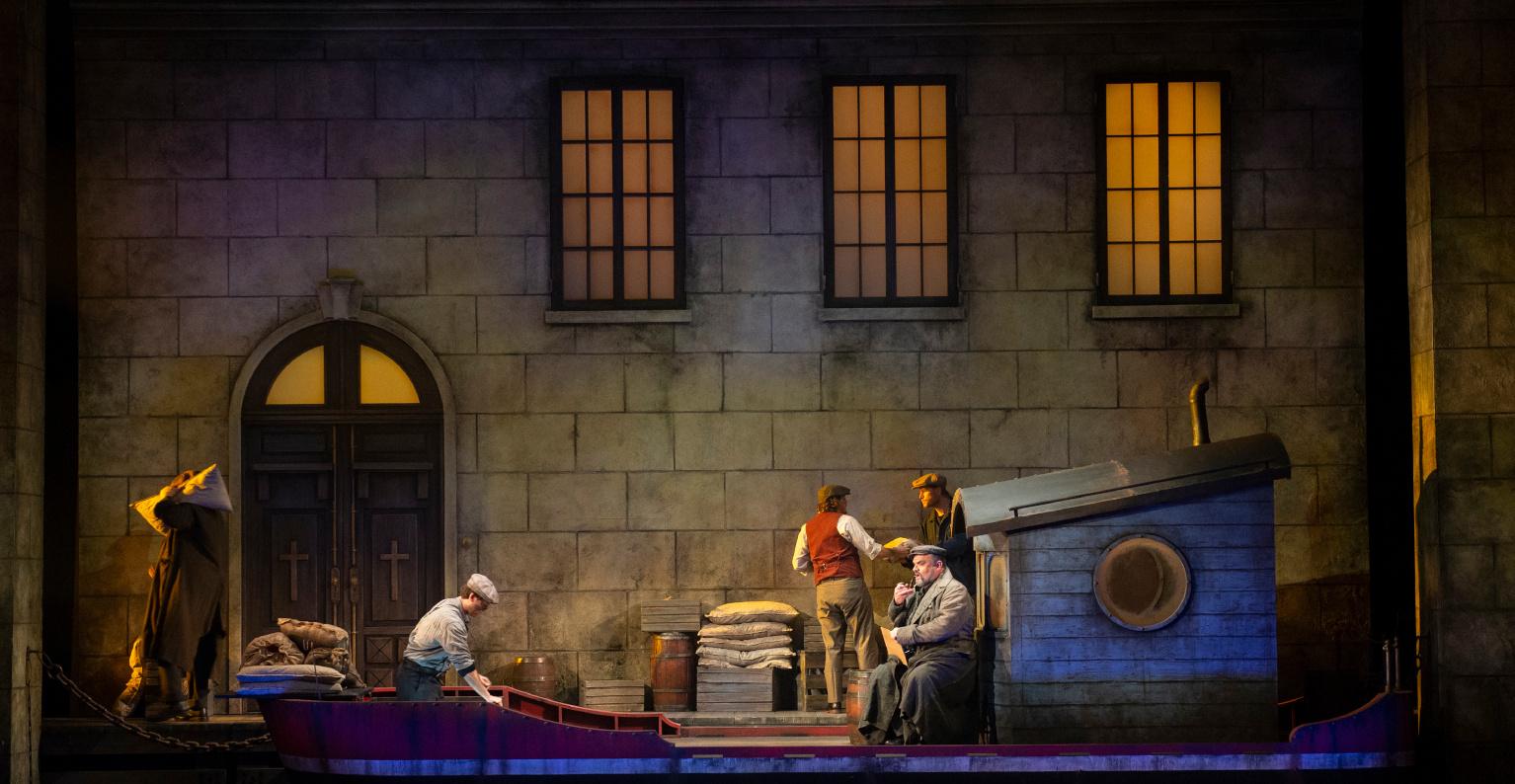 Pacific Opera Victoria's Il tabarro. Photo: David Cooper