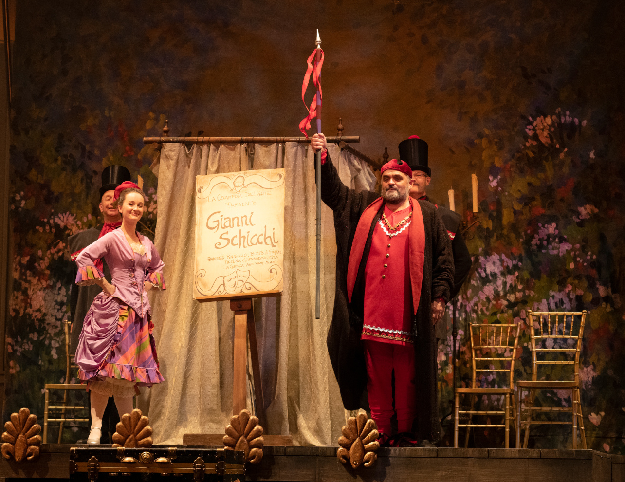 Il trittico: Todd Thomas in Gianni Schicchi. David Cooper Photography
