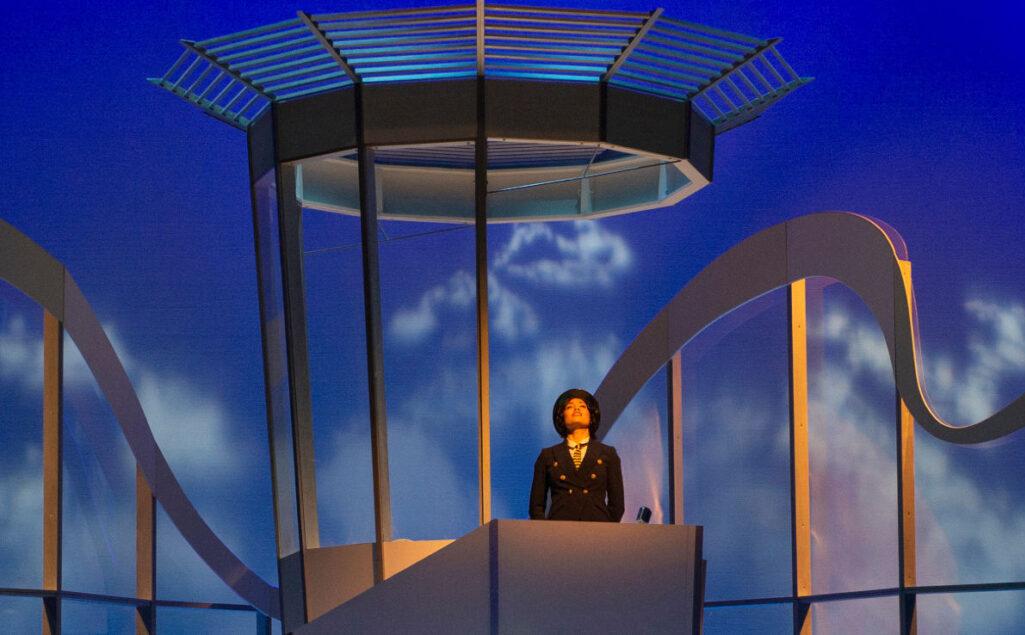 Sharleen Joynt in Flight. Pacific Opera Victoria, February 2020. David Cooper Photography