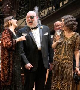 Pacific Opera Choristers in La traviata, 2019. David Cooper Photography